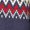 REVIEW Cardigan mit Ethno-Muster Dunkelblau meliert - 1