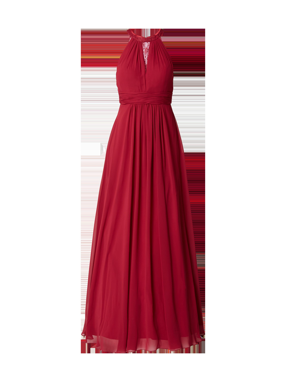 MASCARA Abendkleid mit Spitzenbesatz in Rot online kaufen (9758687 ...