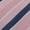Christian Berg Men Krawatte aus Seide mit Streifenmuster Rosé - 1