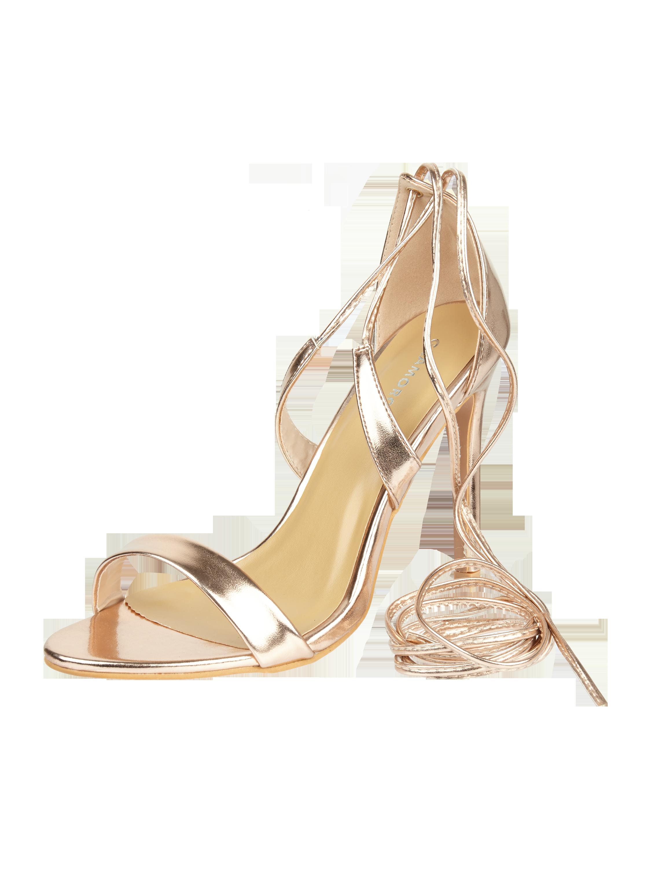 GLAMOROUS High Heels mit Schnürverschluss in Rosé online kaufen ...