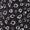 Marc O'Polo Pure Schal mit Allover-Muster Schwarz - 1