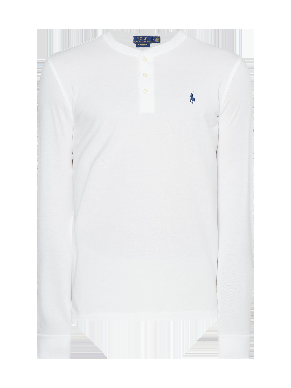 37220717d2ccfb POLO-RALPH-LAUREN Serafino-Shirt aus Mesh in Weiß online kaufen (9861525) ▷  P C Online Shop Österreich