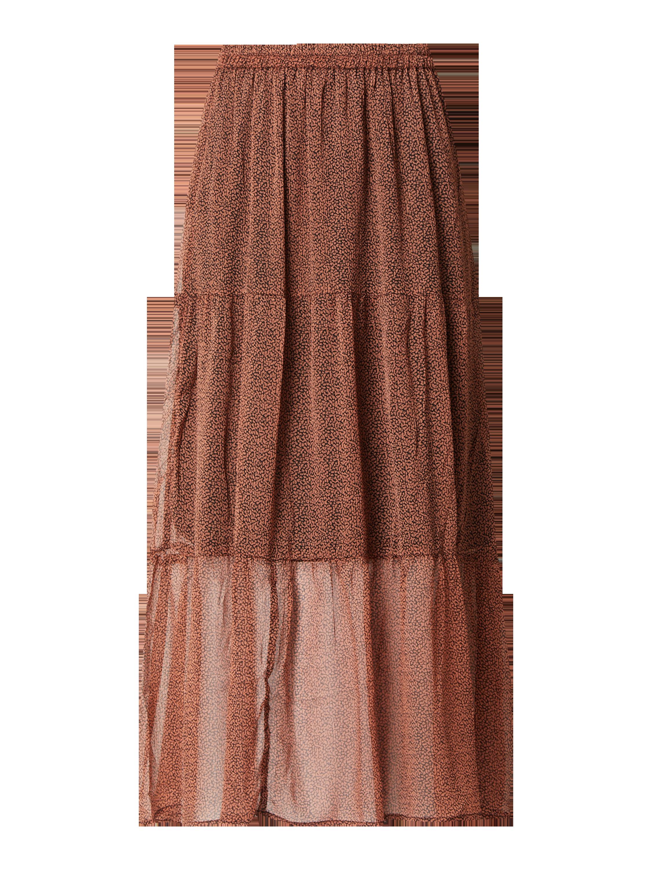 Długa spódnica ze wzorem na całej powierzchni model 'Kaella