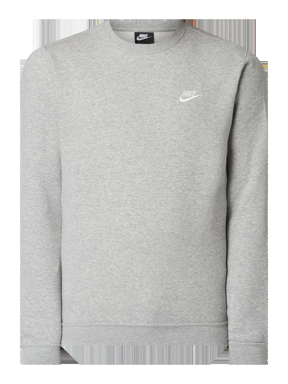 438c5f2d Nike – Bluza o kroju standard fit z wyhaftowanym logo – Szary