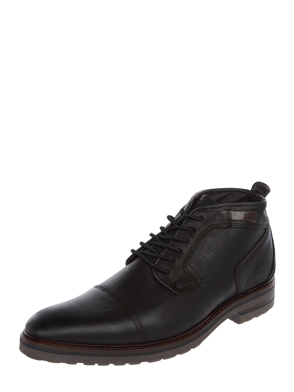 BULLBOXER – Schnürschuhe aus Leder – Schwarz
