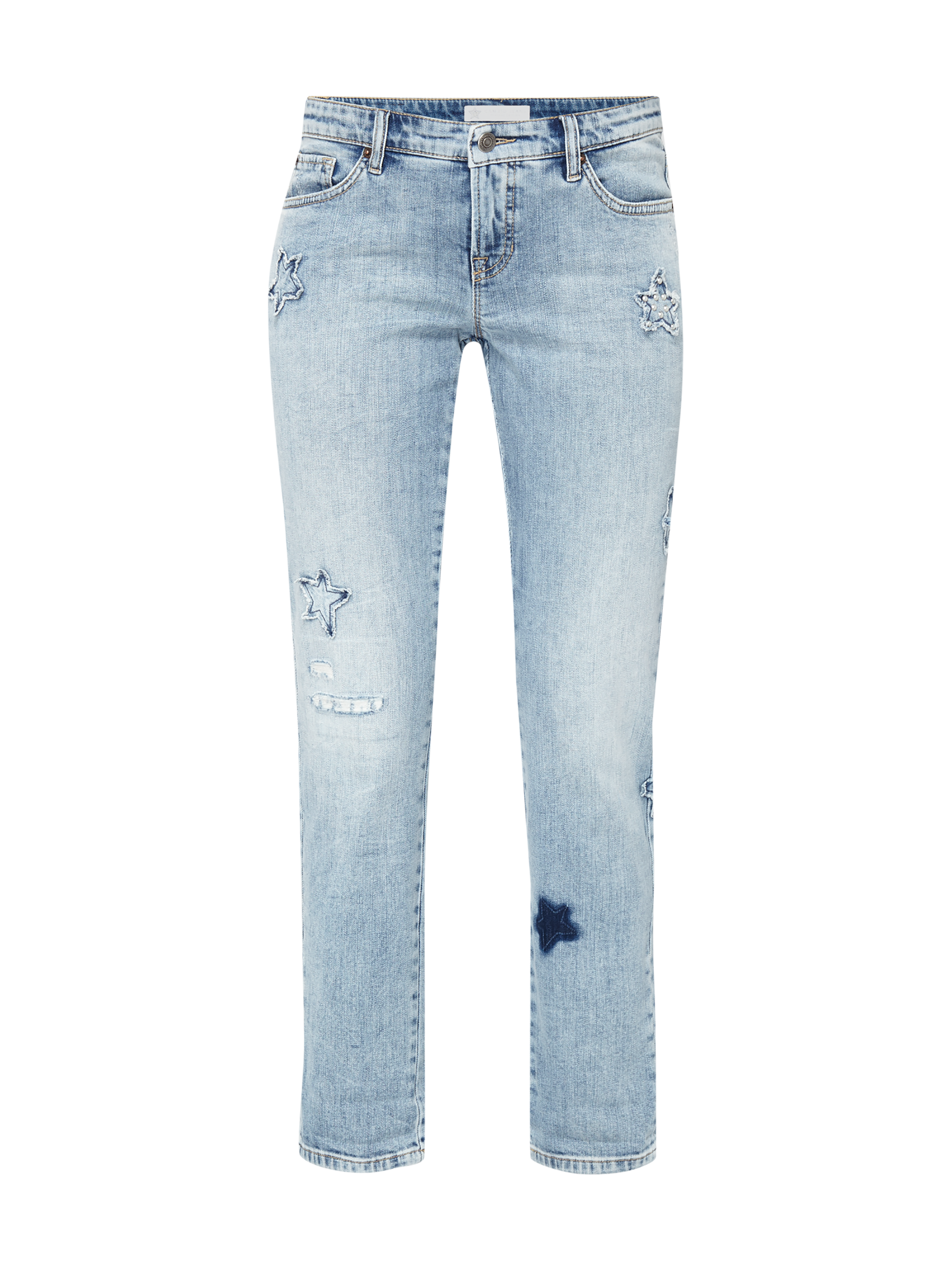 7/8-Jeans PIPER - SOFT WASH USED WHITE Cambio