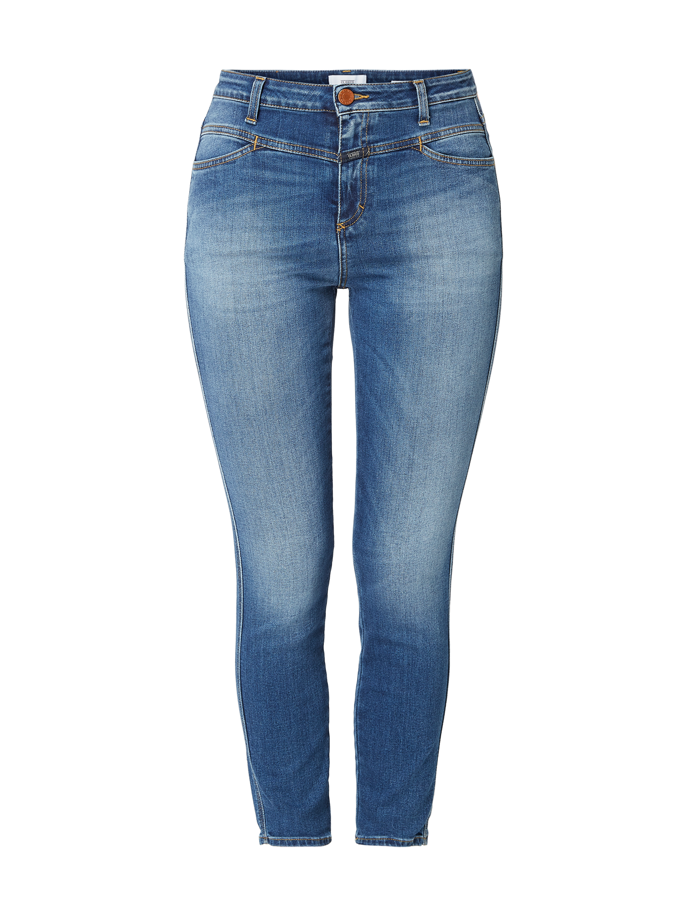 Closed – Stone Washed Skinny Fit Jeans, – Jeans