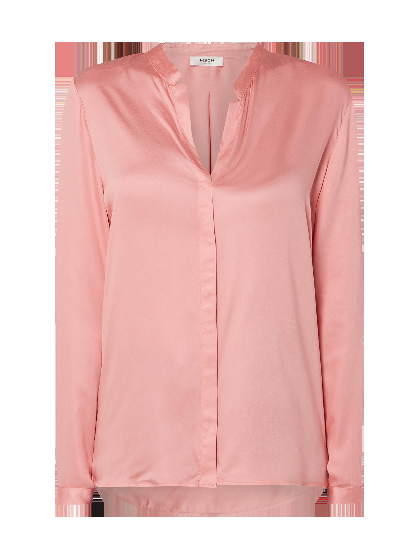 MOSS-COPENHAGEN Bluse mit verdeckter Knopfleiste in Rosé online kaufen  (9889822) ▷ P C Online Shop Österreich 5a2f2dad69