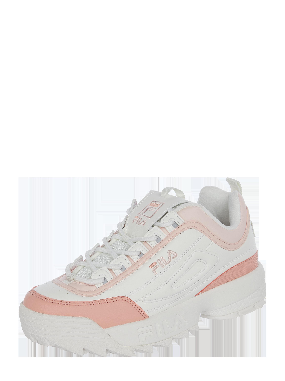 """FILA – Sneakersy """"Disruptor CB"""" z wyhaftowanym logo – Biały"""