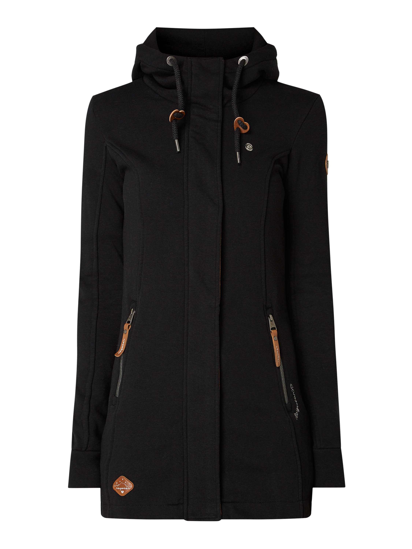 Ragwear – Bluza rozpinana z kapturem – Czarny