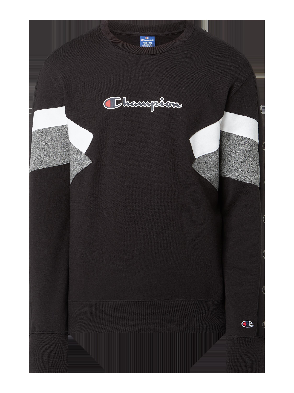 CHAMPION Comfort Fit Sweatshirt aus Baumwolle Modell 'Roche