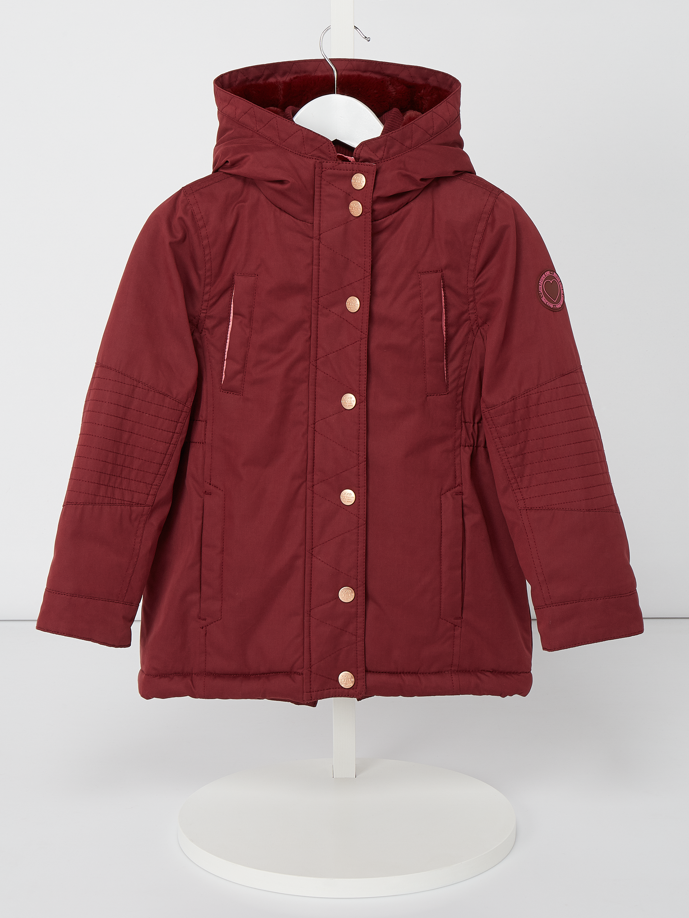 REVIEW-FOR-KIDS Parka mit Webpelzfutter in Rot online kaufen ...