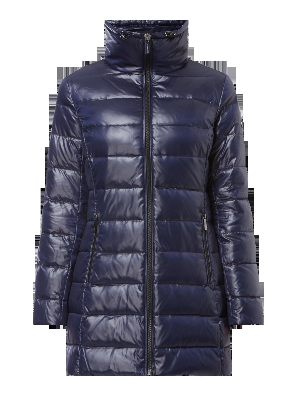 05a2078fb2c1 MICHAEL-MICHAEL-KORS Płaszcz puchowy z odpinanym sztucznym futrem w kolorze  Niebieski   turkusowy zakupy online (9706961) w P C ▷ wysyłka i zwrot 0zł