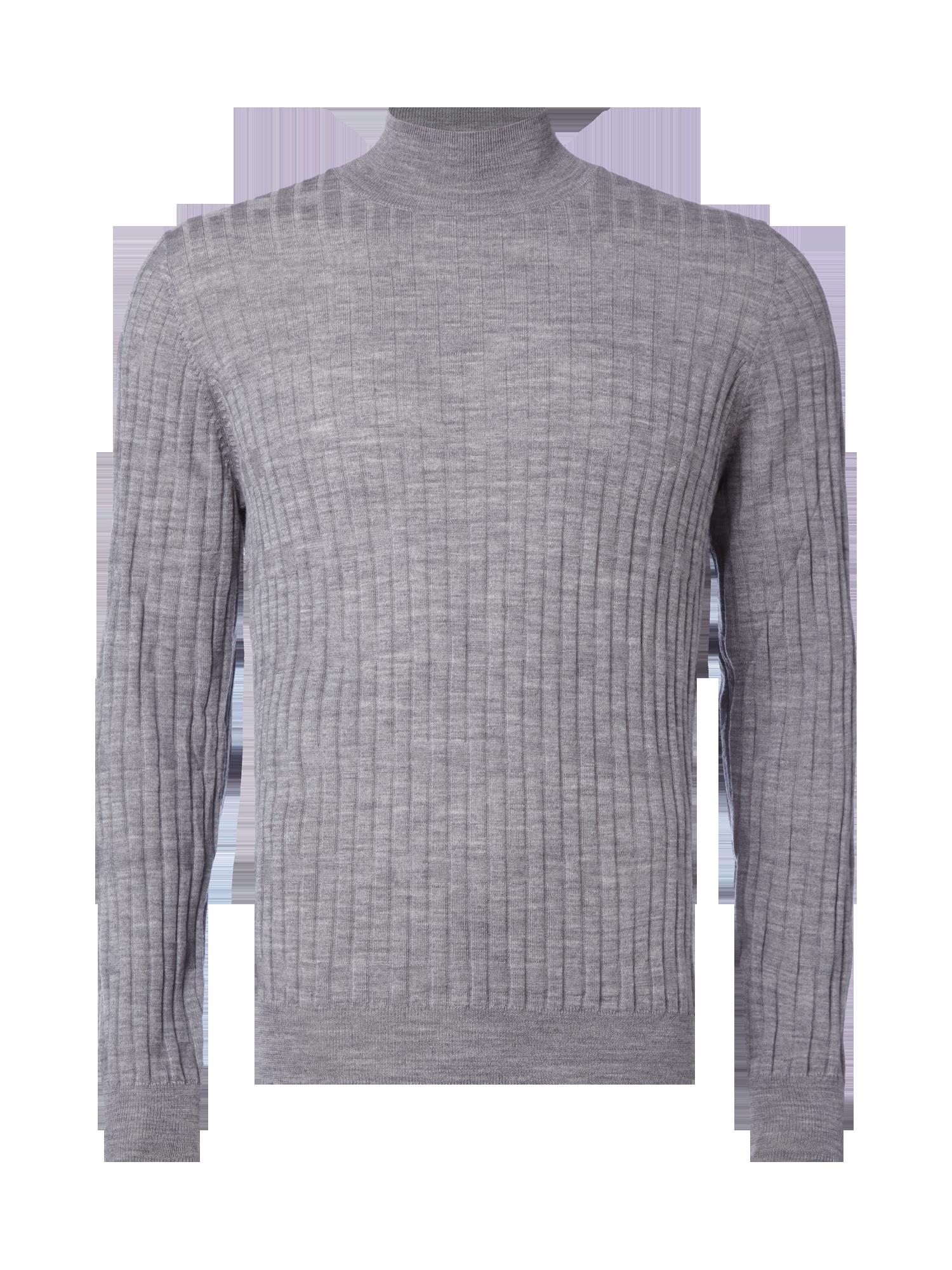 12b7242bdee3 DRYKORN Pullover aus Rippenstrick in Grau / Schwarz online kaufen ...