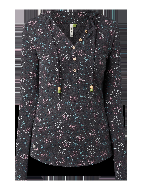 Ragwear – Bluza z kapturem z bawełny organicznej – Antracytowy