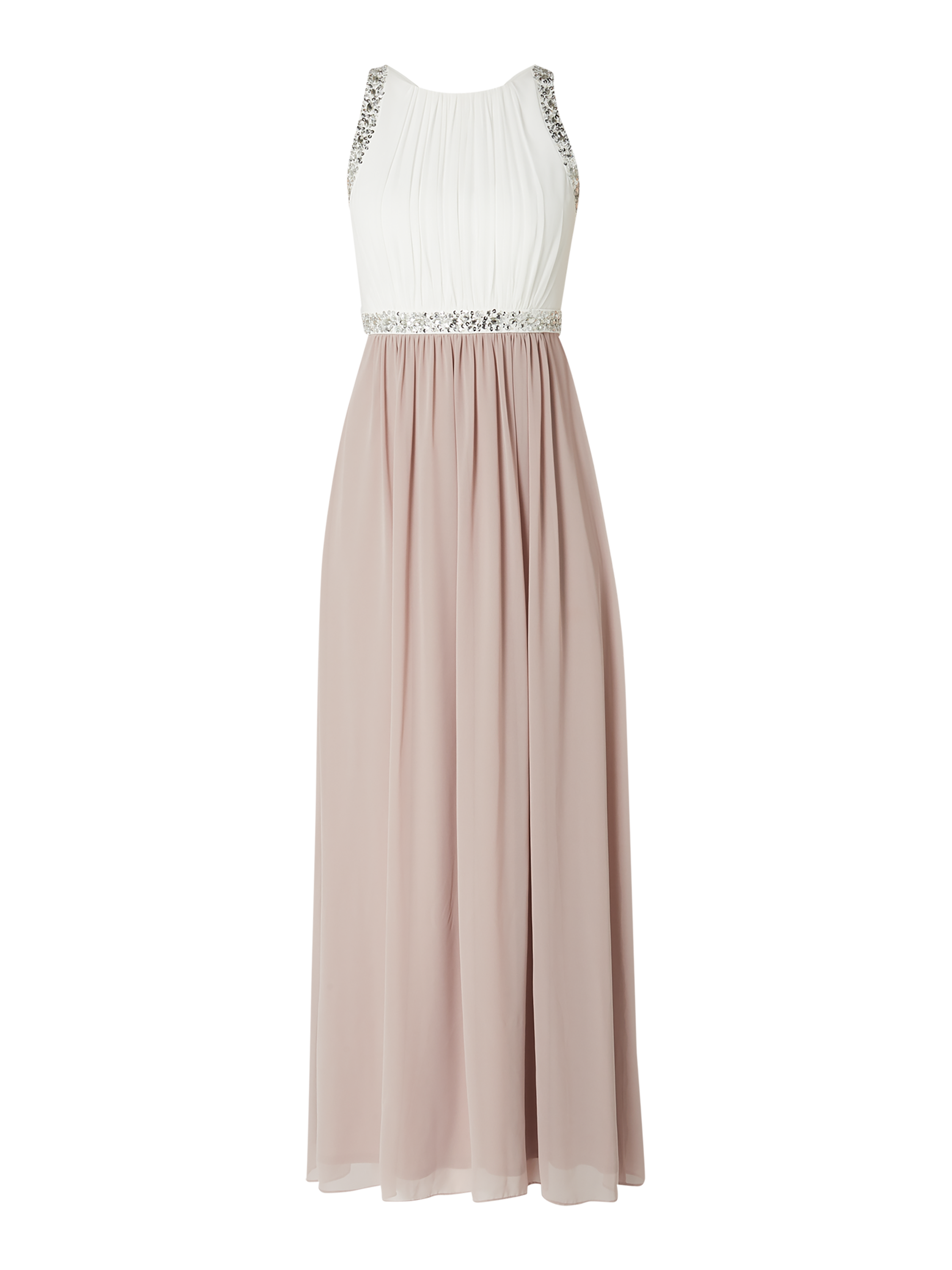 jake*s cocktail – abendkleid mit ziersteinen – mauve