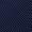 Christian Berg Men Krawatte mit Tupfen-Dessin Marineblau - 1