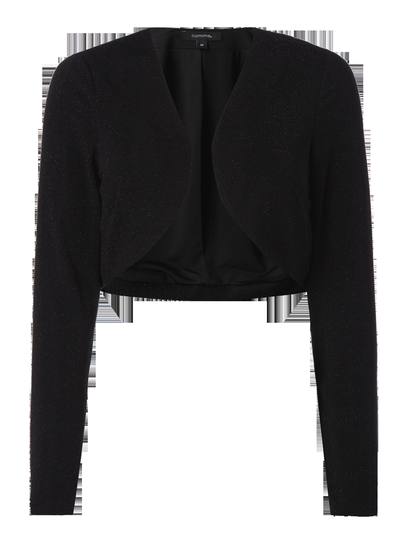 5a321324f3d17f COMMA Bolero mit Effektgarn in Grau / Schwarz online kaufen (9584969) ▷ P&C  Online Shop