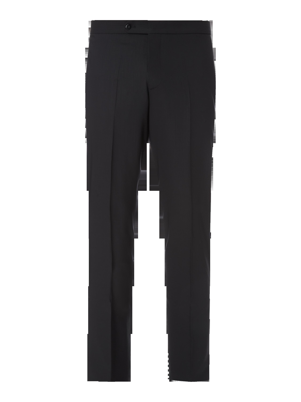 b5e096920c4e1 WILVORST Spodnie smokingowe z czystej wełny w kolorze Szary / czarny zakupy  online (8996580) w P&C ▷ wysyłka i zwrot 0zł
