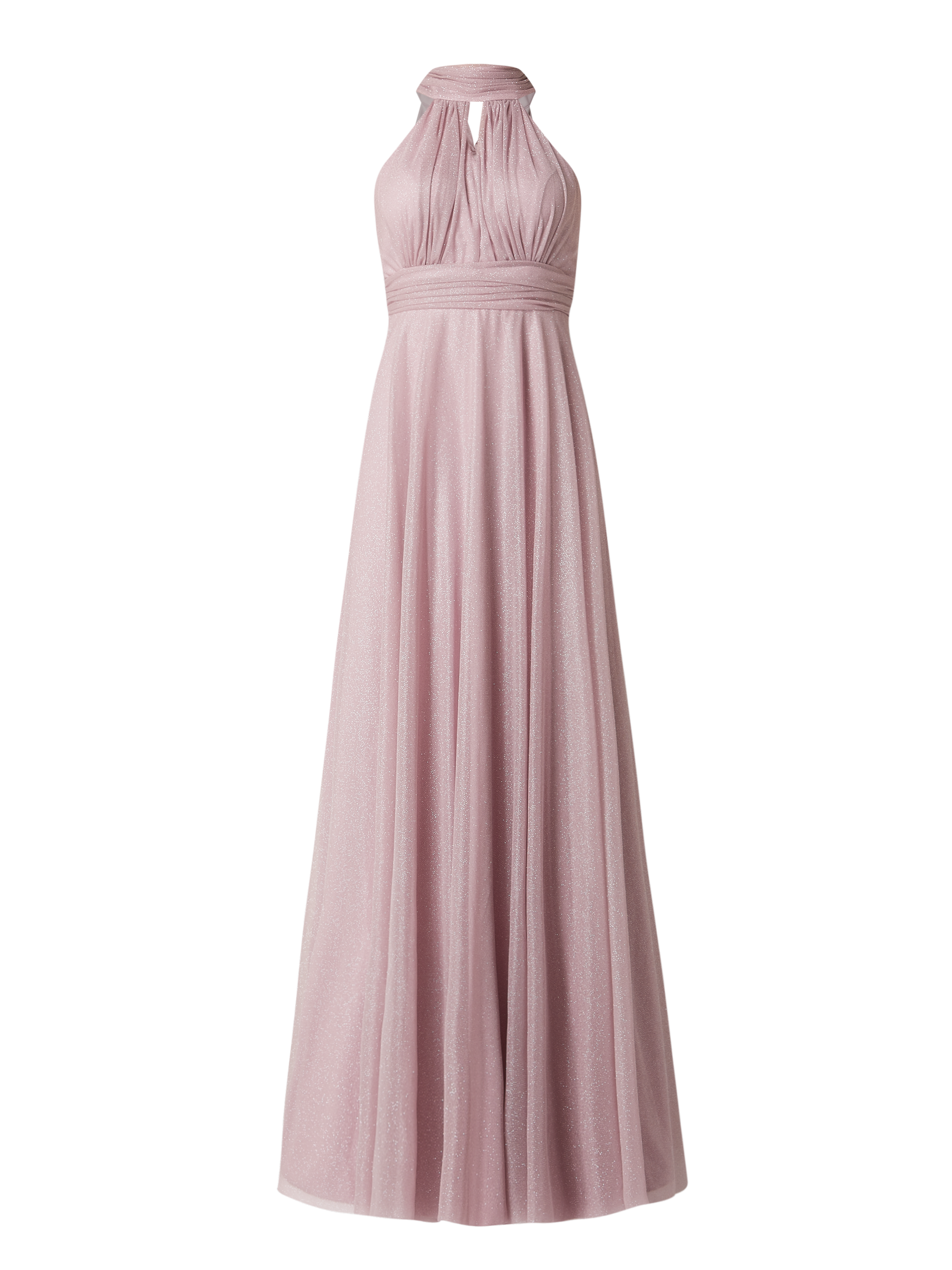 TROYDEN COLLECTION – Abendkleid mit Glitter-Effekt – Mauve
