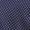Hugo Krawatte aus Seide mit Tupfenmuster Marineblau - 1