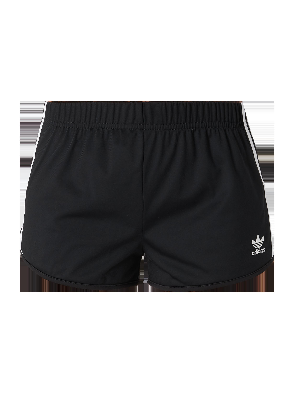 good texture aliexpress better ADIDAS Originals – Shorts mit seitlichen Logo-Streifen – Schwarz