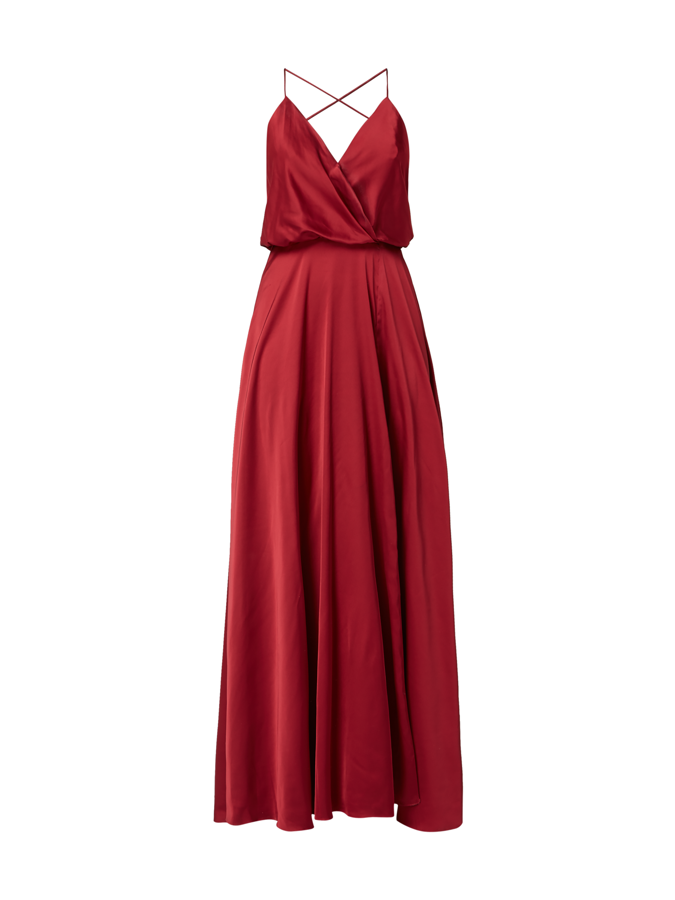 Unique kleid rot