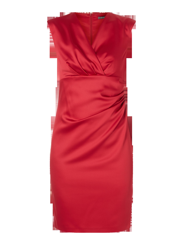 MARIE-NOIR Cocktailkleid aus Satin in Rot online kaufen (9706725 ...