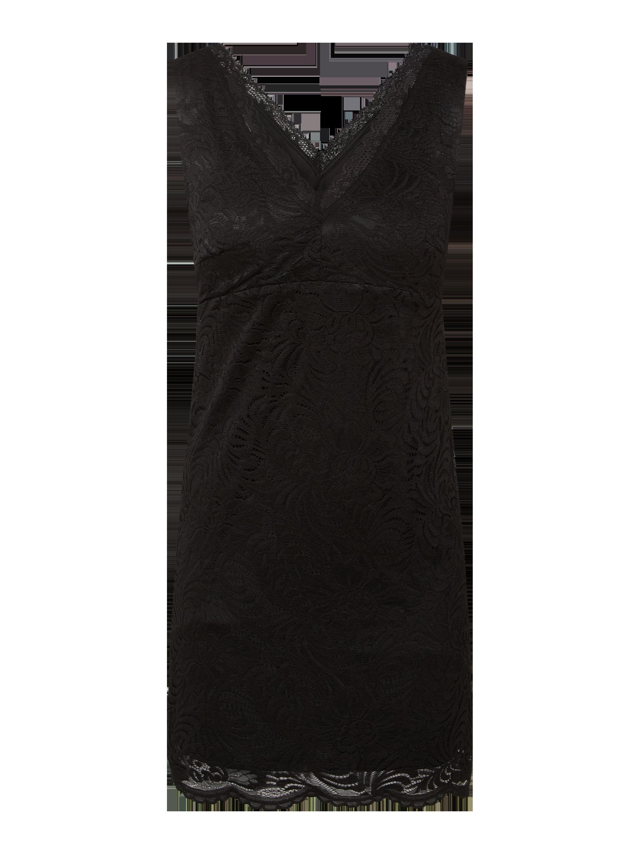 vero moda – kleid aus spitze modell 'janne' – schwarz