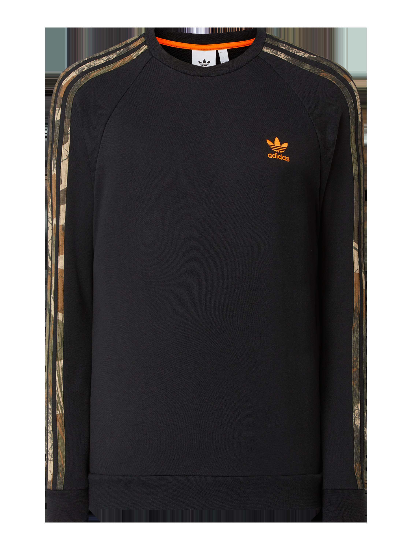 ADIDAS Sweatshirt mit Raglanärmeln in Schwarz online kaufen