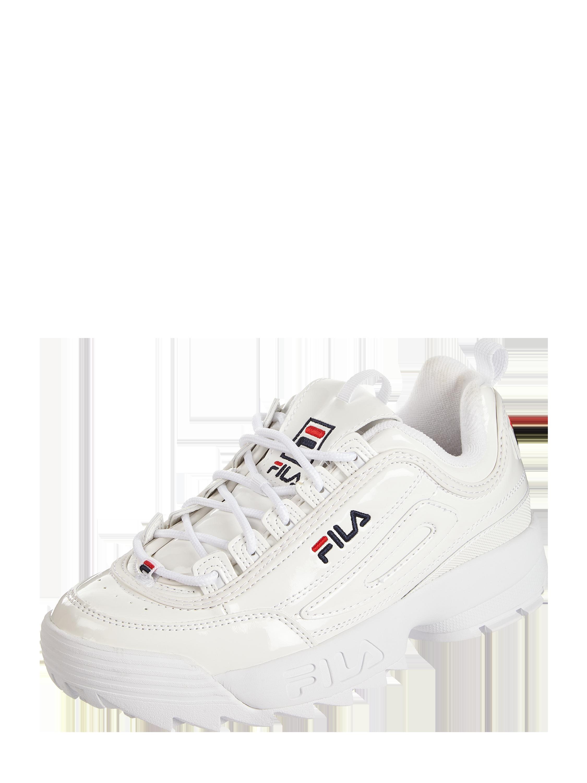 FILA – Sneaker 'Disruptor' in Lackoptik – Weiß