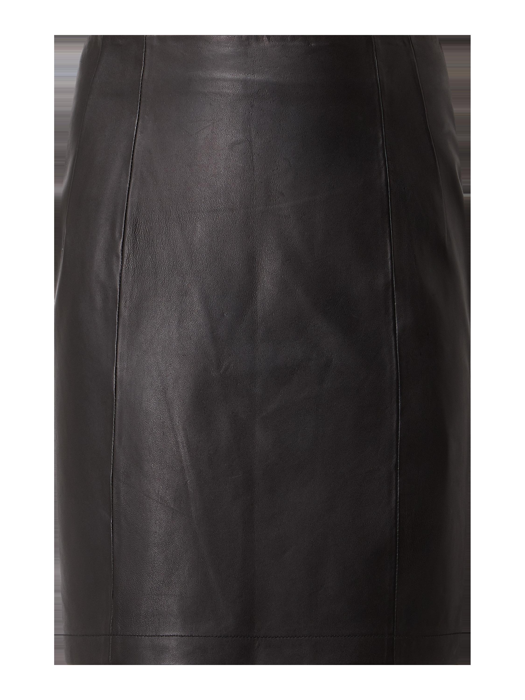 Damska spódnica skórzana SP 635