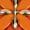 MICHAEL Michael Kors Schlüsselanhänger mit Blüten-Applikationen Orange - 1