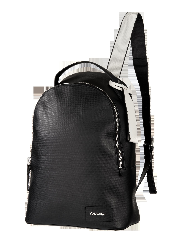e86ca68739dca CALVIN-KLEIN Plecak z przegródką zapinaną na zamek błyskawiczny w kolorze  Szary   czarny zakupy online (9732370) w P C ▷ wysyłka i zwrot 0zł