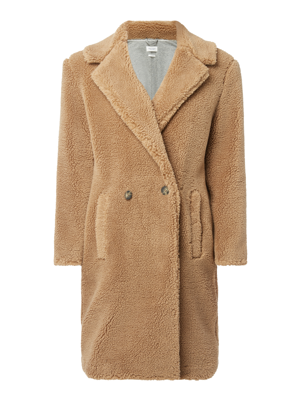 850d8fcfb25b MARC-O-POLO-DENIM Mantel aus Teddyfell in Braun online kaufen (9733856) ▷  P C Online Shop Österreich