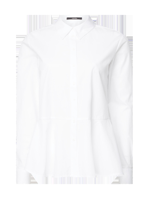bb8a81d5d someday bluse mit schößchen weiß