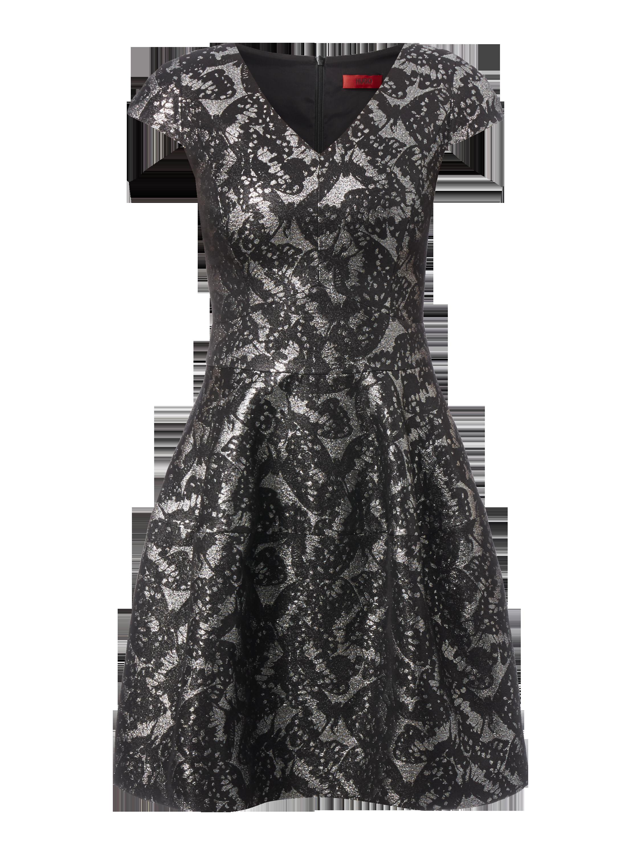Kleid mit V-Ausschnitt online kaufen | 0€ Versand ▷ P&C Online Shop