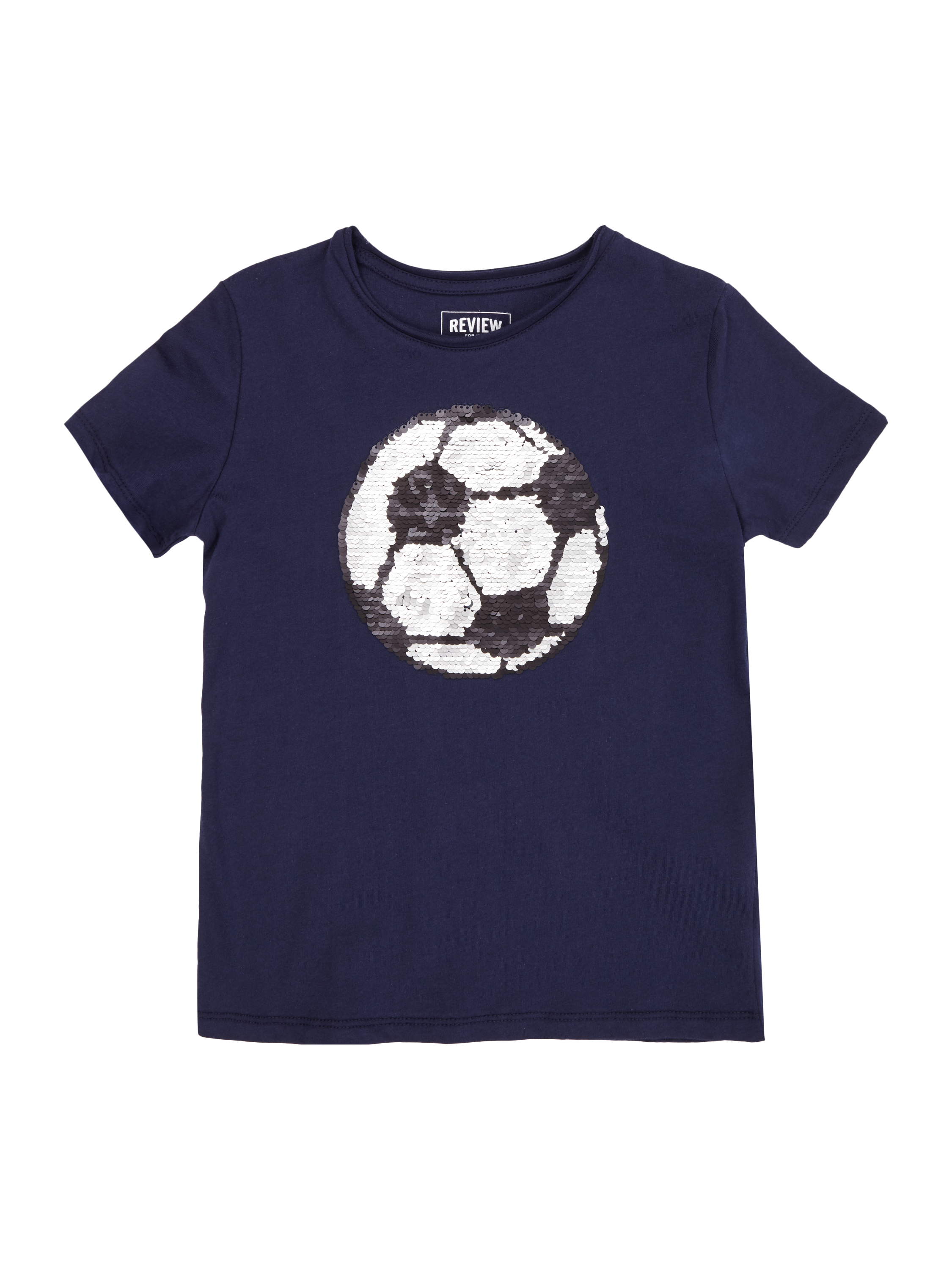 REVIEW-FOR-KIDS T-Shirt mit Wende-Pailletten in Blau / Türkis online ...