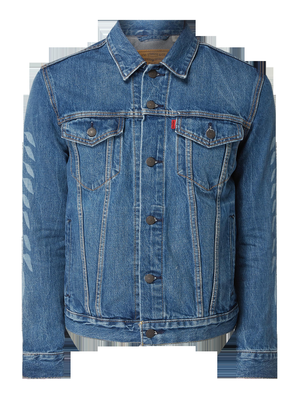 Levi's® – Levi's® x Justin Timberlake Jeansjacke mit Prints – Jeans