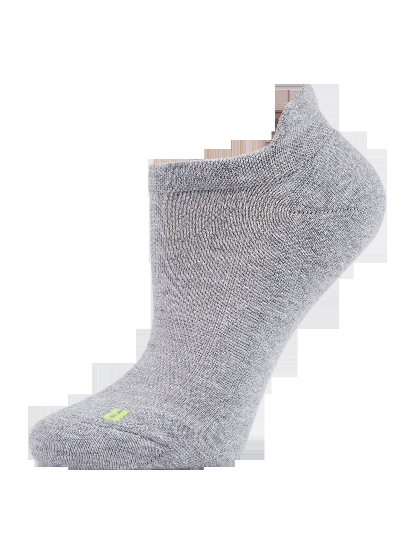 FALKE Sneakersocken mit anatomischer Passform in Grau / Schwarz ...