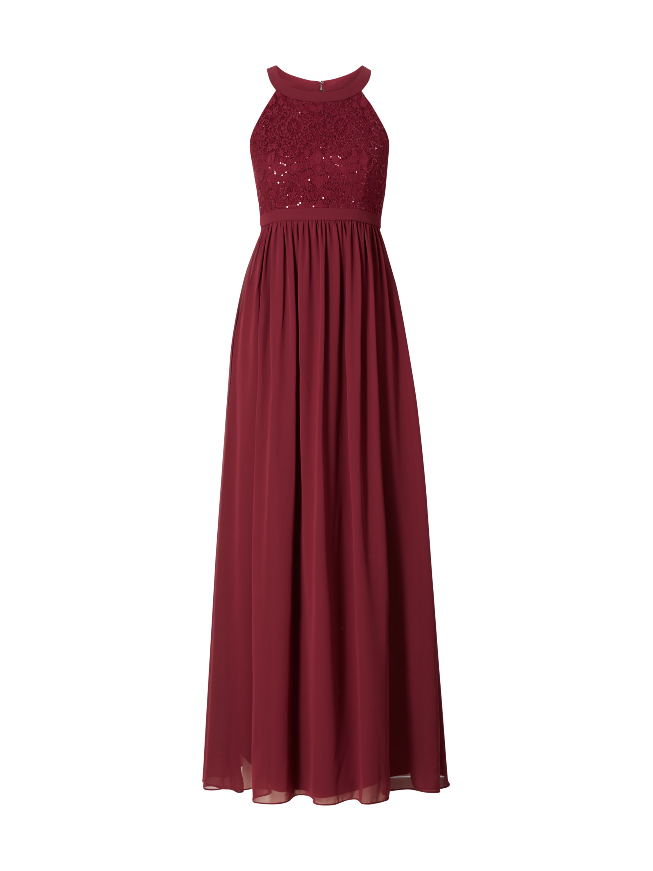 80042d23bee552 JAKES-COCKTAIL Abendkleid mit Pailletten-Besatz in Rot online kaufen  (9715989) ▷ P&C Online Shop