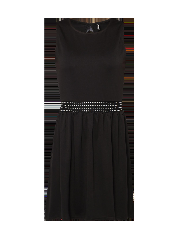 ONLY Kleid mit Nietenbesatz in Grau / Schwarz online kaufen (9806151 ...