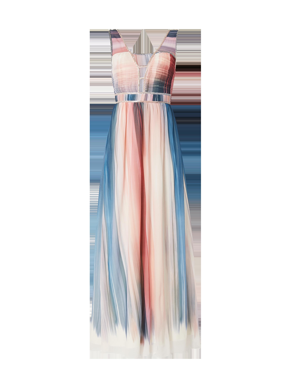 Little Mistress – Abendkleid mit Farbverlauf – Pseudo