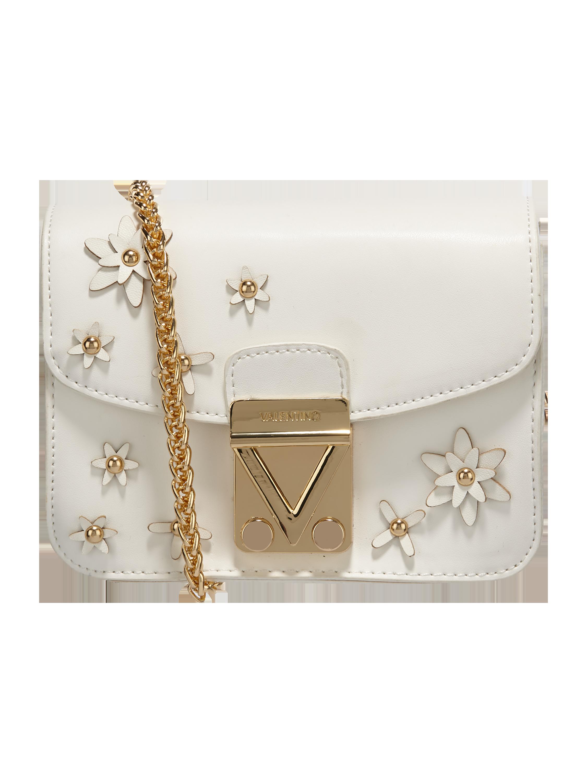 c42eebadd9e49 VALENTINO-BY-MARIO-VALENTINO- Crossbody Bag mit Blüten-Applikationen in Weiß  online kaufen (9775818) ▷ P C Online Shop Österreich