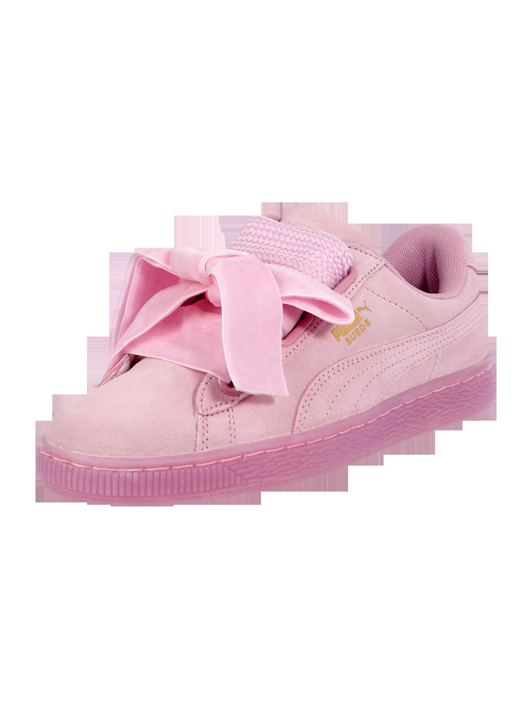 puma sneaker schleife damen rosa