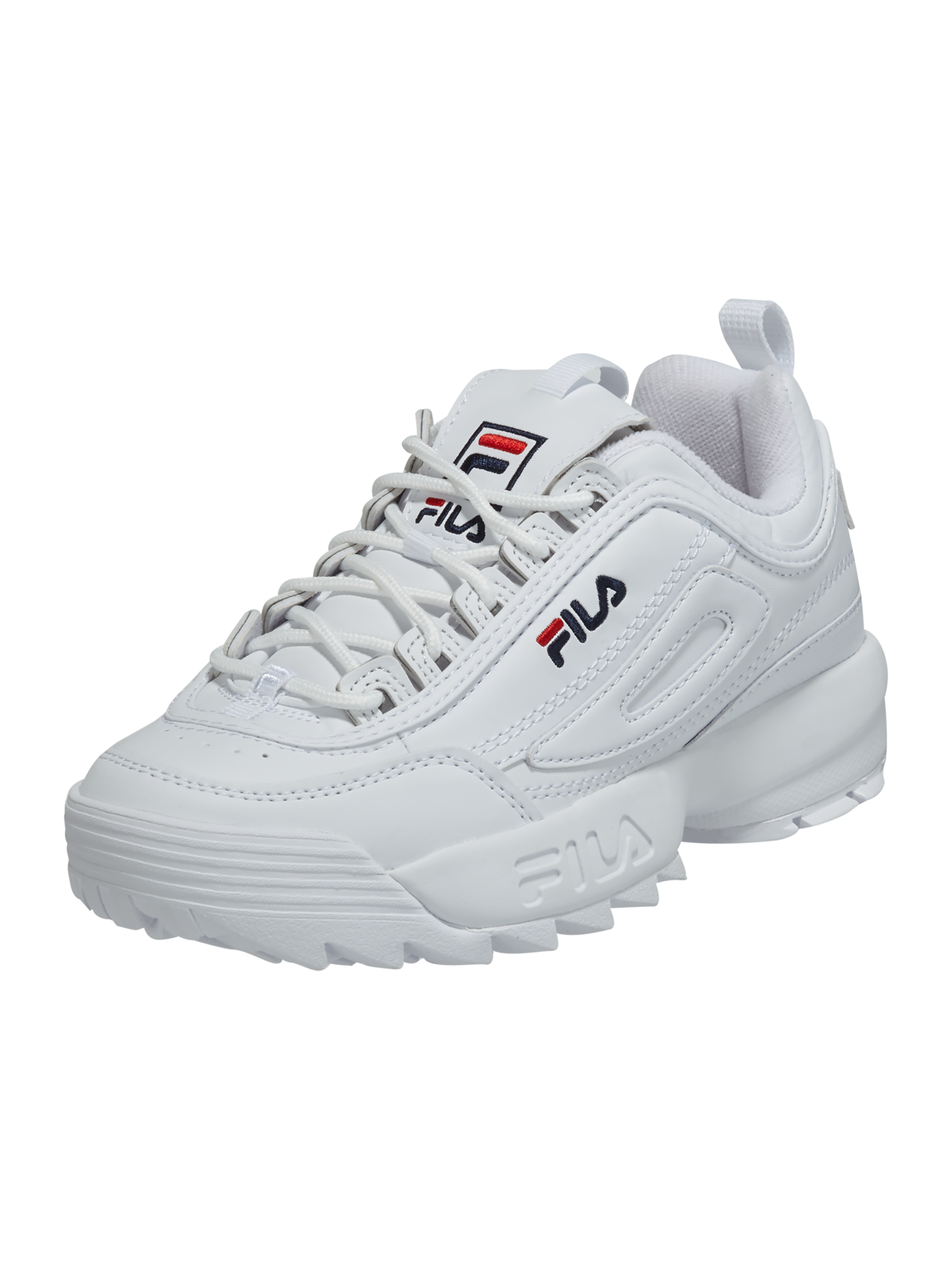 newest collection f5617 79ed6 FILA – Sneaker 'Disruptor' mit Plateausohle – Weiß
