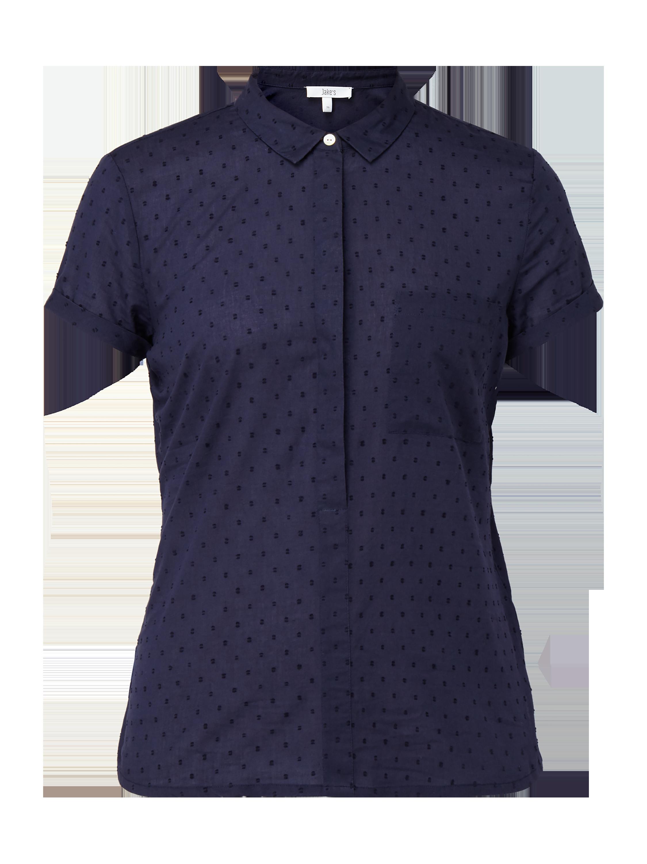 79342d2465790e JAKES Blusenshirt mit strukturiertem Punktemuster in Blau / Türkis online  kaufen (9809898) ▷ P&C Online Shop Österreich