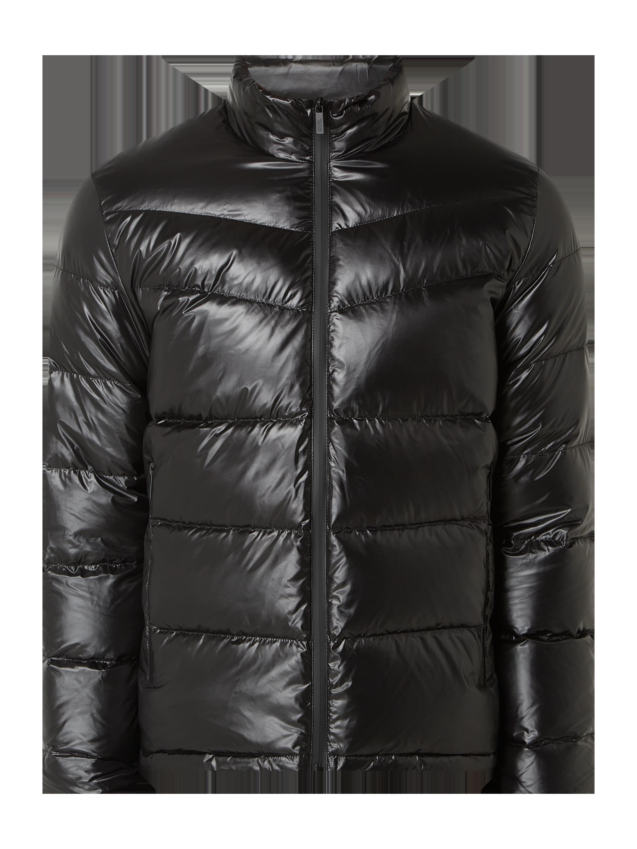 KARL LAGERFELD Jacke mit Reißverschlusstaschen in Grau