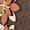 MICHAEL Michael Kors Münztasche mit Blüten-Applikationen Dunkelbraun - 1