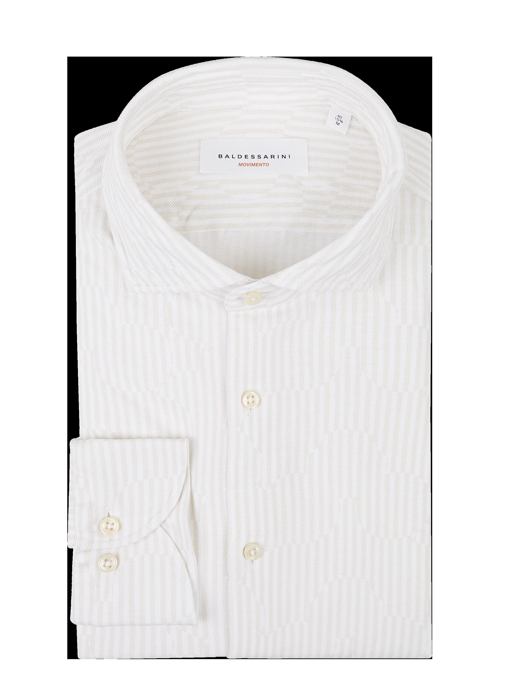 Baldessarini – Regular Fit Freizeithemd aus Jersey Modell 'Henry' – Beige